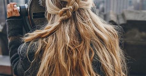 cool girl messy hairstyles  rock