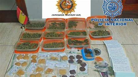 Intervienen en Tenerife gran cantidad de marihuana con la ...