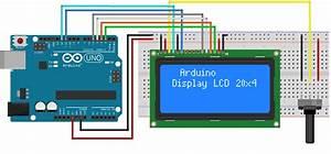 Display Lcd 20x4 Con Luz De Fondo Azul Y Compatible Con