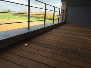 Eclairage Terrasse Bois : eclairage sol terrasse bois ipe bsv domelec ~ Melissatoandfro.com Idées de Décoration