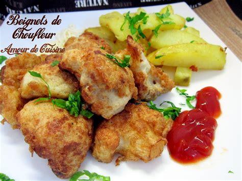 cuisine choux fleur beignets de chou fleur amour de cuisine