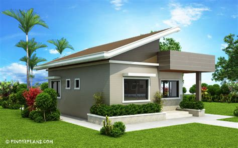 bedroom small house design shd  pinoy eplans
