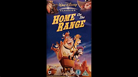 Digitized Opening To Home On The Range (uk Vhs) Youtube