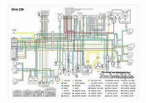 Kymco Dink 250 Wiring Diagram