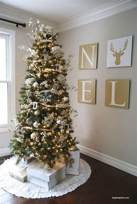 1000 ideas about gold christmas tree on pinterest