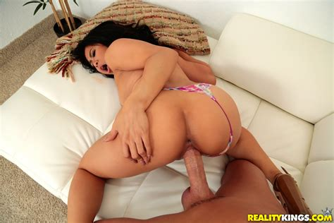 Hot Brunette Got Fucked On The Couch Photos Maya Mona