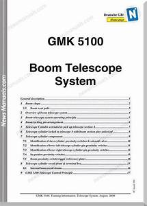 Grove Gmk 5100 Boom Telescope System Training Manual