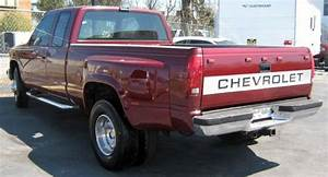 Purchase Used 1989 Chevrolet C3500 Pickup Red New Jasper