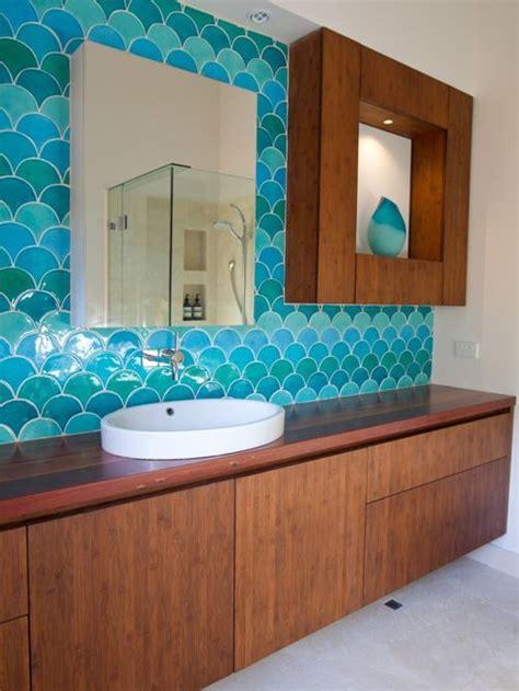 tiled splashbacks for kitchens fish scale tiles houzz 6199