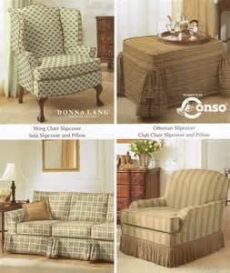 simplicity 5383 sewing pattern sofa wing club chair slipcover covers ebay