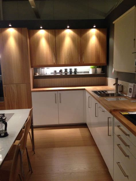 Ikea Kitchen Ideas - ikea kitchen high gloss timber great home ideas