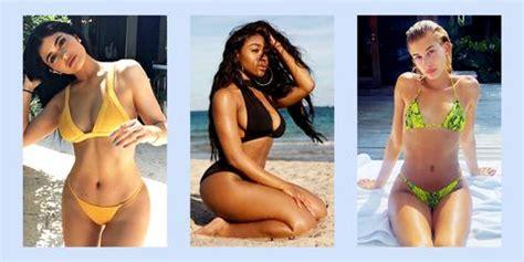 55 Best Celebrity Swimsuits 2020 - Celebrities Wearing Bikinis