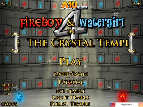 Fireboy And Watergirl Light Temple by Fireboy And Watergirl
