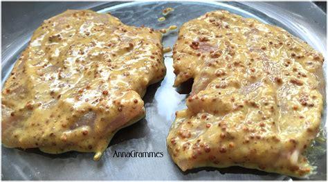 cuisine escalope de dinde escalopes de dinde miel moutarde annagrammes cuisine