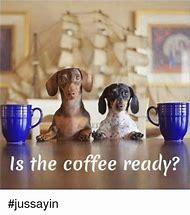 Dog and Coffee Meme