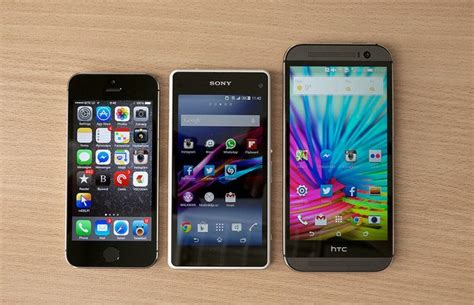 Different Types Of Phones On Campus