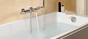 robinetterie baignoire cascade dootdadoocom idees de With porte de douche coulissante avec quel radiateur electrique choisir pour une salle de bain
