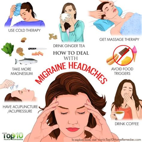 When you quit coffee, you may experience some withdrawal symptoms like fatigue, irritability, headaches or trouble focusing. How to Deal with Migraine Headaches   Top 10 Home Remedies