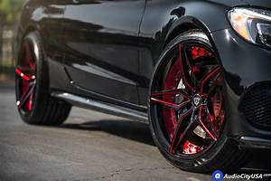 20 U0026quot  Mq Wheels 3259 Black Red Inner Extreme Concave Rims