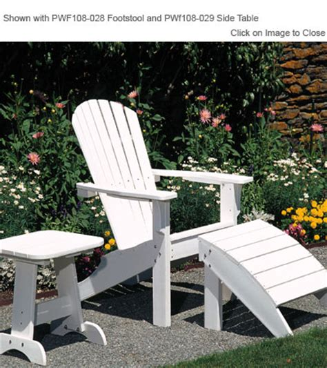 envirowood outdoor poly furniture seaside casual sea018