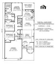 narrow lot plans 1645 0409 square narrow lot house plan