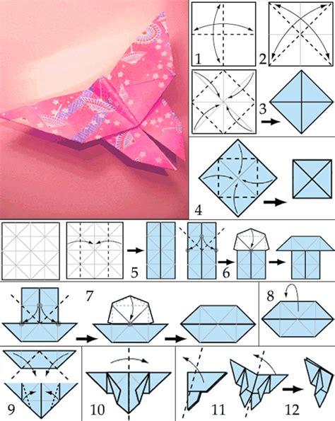 schmetterling falten kindergarten anleitung origami schmetterling mit anleitung freshouse