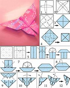 Origami Schmetterling Anleitung : schmetterling origami als dekoration freshouse ~ Frokenaadalensverden.com Haus und Dekorationen