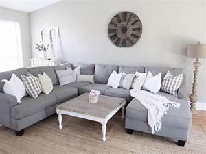 Sectional from nebraska furniture mart home pinterest for Sectional sofa farmhouse