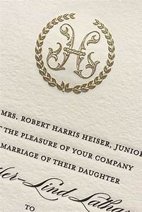 110 best meticulous monograms images on pinterest bar With monogram for wedding invitations etiquette