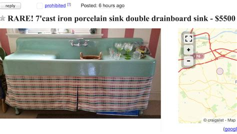 double drainboard sink craigslist one last hurrah giving up a repurposed kitchen design
