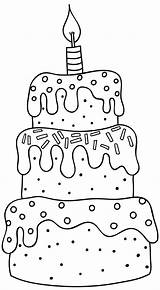 Birthday Cute Happy Printable Banner Google Cartoon Drawing Coloring Pages Cake Digi Stamps Monsters Banners Easy Sign Colouring Cupcake Cards sketch template
