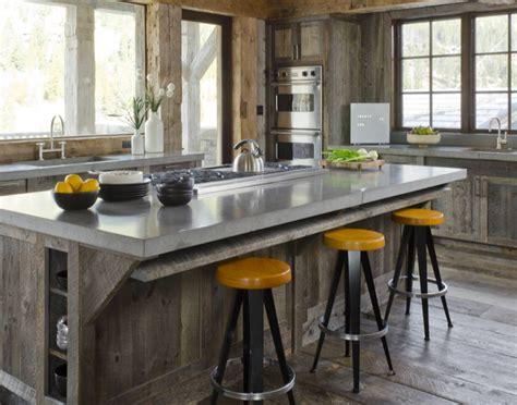 Concreto al tope de la moda en la cocina LCI Blog