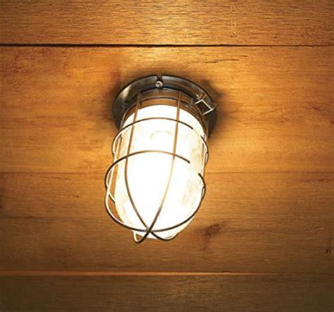 light ceiling flush led bulb wall barn exterior with