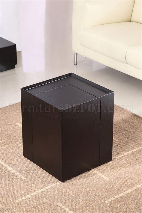 dark oak finish modern  table wmini bar
