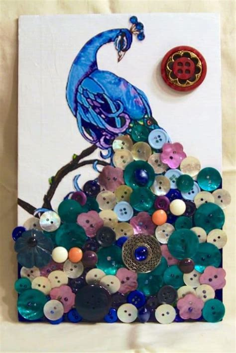 buttons craft ideas button artwork amazing ideas you will the whoot 1198