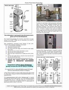 Upper Thermostat Electric Water Heater Wiring Diagram