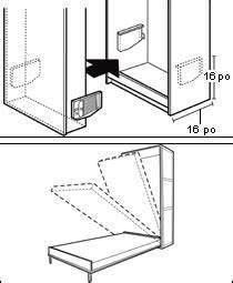 Mécanisme Lit Escamotable : m canisme pour lit escamotable quincaillerie lit ~ Voncanada.com Idées de Décoration