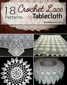 18 Easy Crochet Lace Tablecloth Patterns