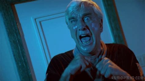 leslie nielsen halloween movie scary gif gifs primo gif latest animated gifs