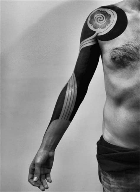 Whirlpool Blackwork tattoo Sleeve | Best Tattoo Ideas Gallery