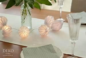 Deko Mit Lichterketten : diy edle lichterkette mit plisseeanh ngern aus din a4 papier deko kitchen ~ Eleganceandgraceweddings.com Haus und Dekorationen