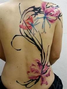 60+ Hot Water Color Tattoo Designs & Creative Art ...