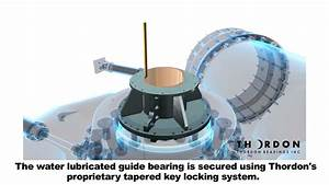 Thordon Sxl Hydro Turbine Guide Bearing With Tapered