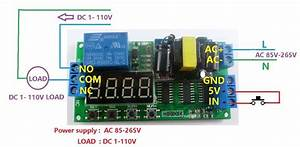 Led 110v Wiring Diagram : 110v ac cycle time timer switch delay relay on off repeat ~ A.2002-acura-tl-radio.info Haus und Dekorationen