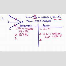 Geometry  16  Proof Practice Youtube