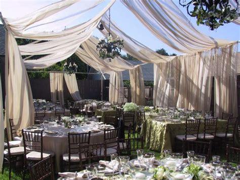 Wedding Reception In Backyard by Tent Or No Tent Backyard Reception