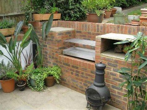 Backyard Grill South by Cool Diy Backyard Brick Barbecue Ideas