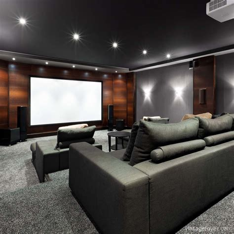 Home Theater Design And Ideas by 39 Stunning And Inspirational Home Cenima Design Ideas
