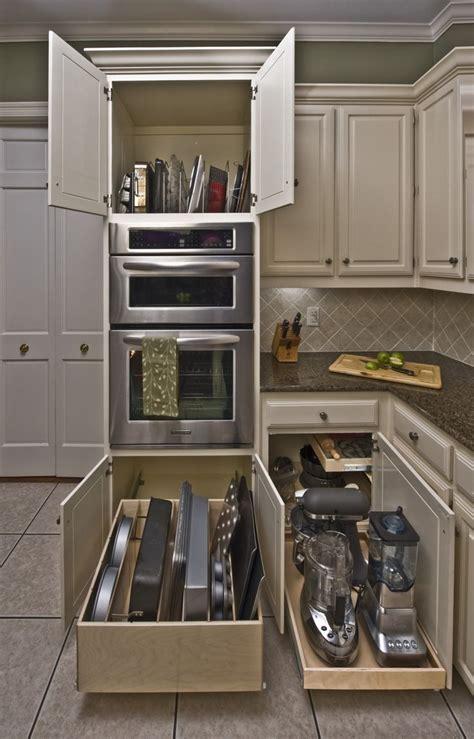 Kitchen Cupboard Storage by Best Kitchen Storage Cabinet Glide Out Shelves Storage