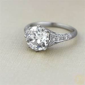 cushion cut diamond rings more vintage treasures With antique diamond wedding rings